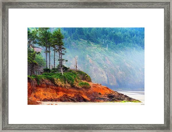 Cape Lookout Beach Framed Print