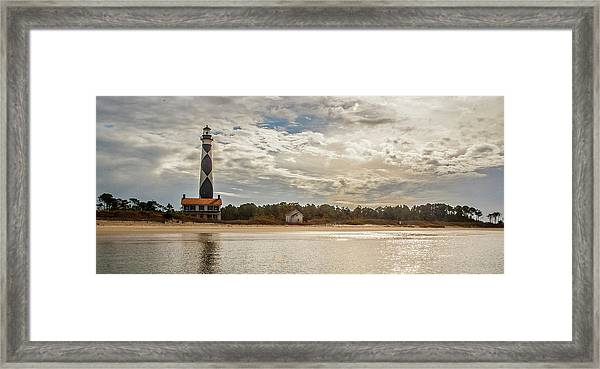 Cape Lookout Lighthouse No. 3 Framed Print