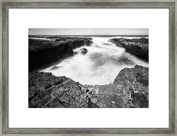 Framed Print featuring the photograph Cape Perpetua by Whitney Goodey