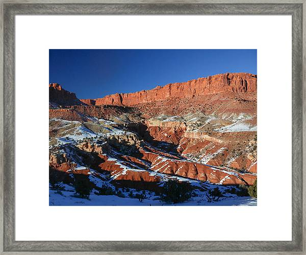 Capitol Reef Framed Print