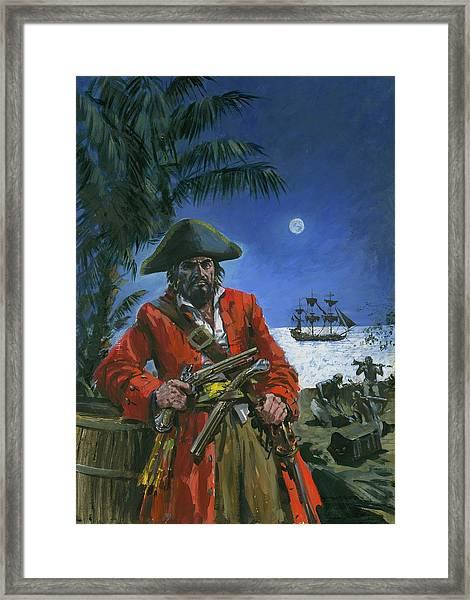 Captain Kidd Framed Print