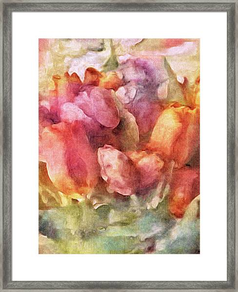 Captured Spring Framed Print