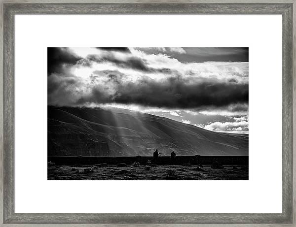 Capturing Rowena Framed Print