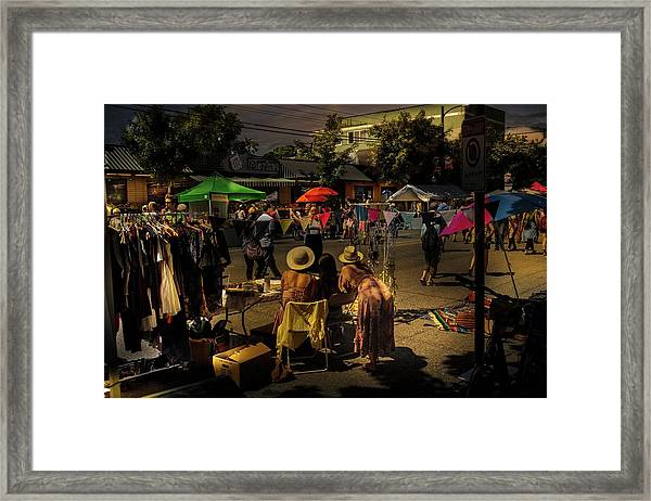 Framed Print featuring the photograph Car-free Day No. 2 by Juan Contreras