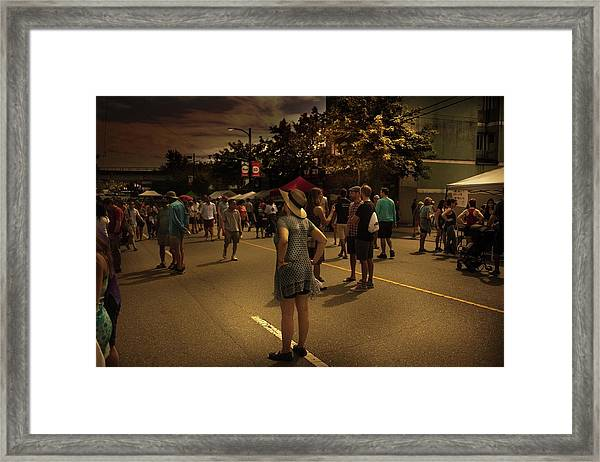 Framed Print featuring the photograph Car-free Day No. 7 by Juan Contreras