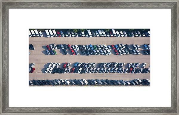 Car Parking Place Framed Print