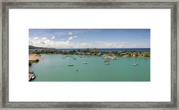 Caribbean Paradise Montego Bay - Jamaica Framed Print
