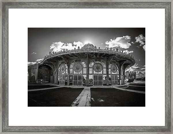 Framed Print featuring the photograph Carousel House by Steve Stanger