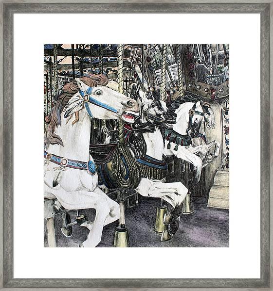 Carousel Of Dreams Framed Print