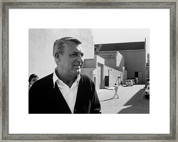 Cary Grant Framed Print by John Dominis