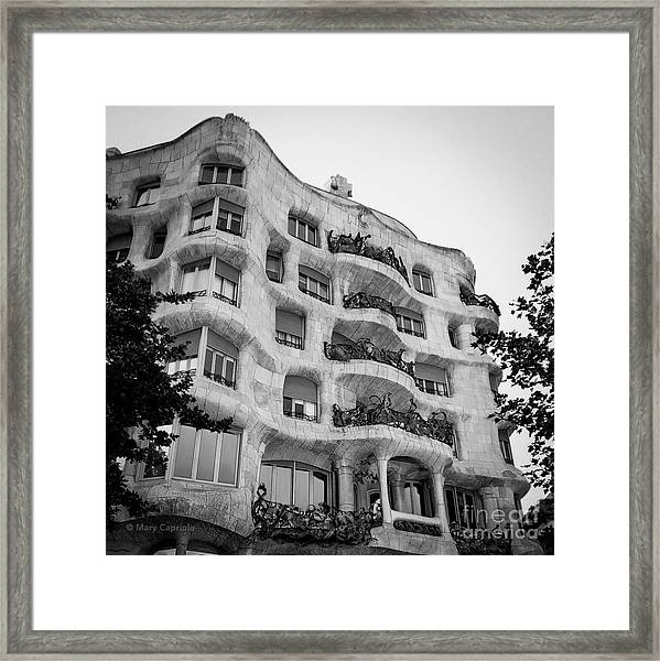 Casa Mila Framed Print