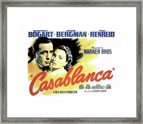 Casablanca Framed Print