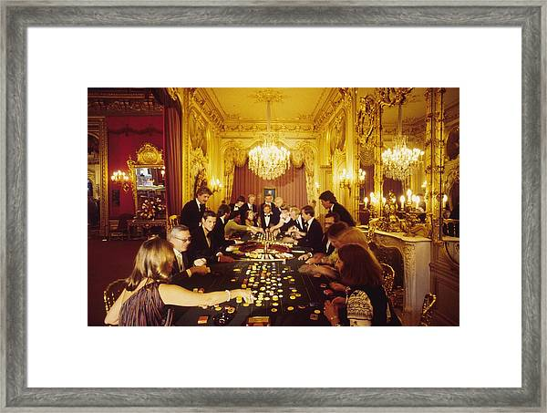 Casino Life Framed Print