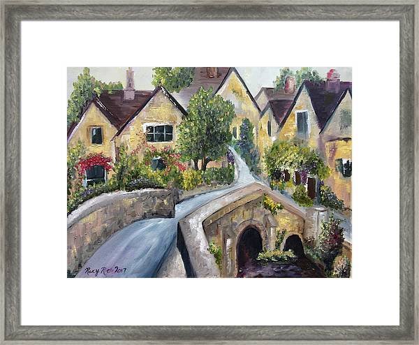 Castle Combe Framed Print