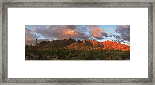 Catalina Mountains, Arizona Framed Print