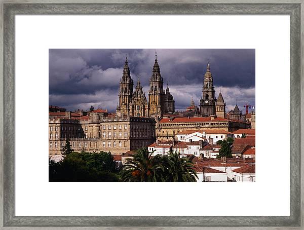 Cathedral De Apostol Framed Print