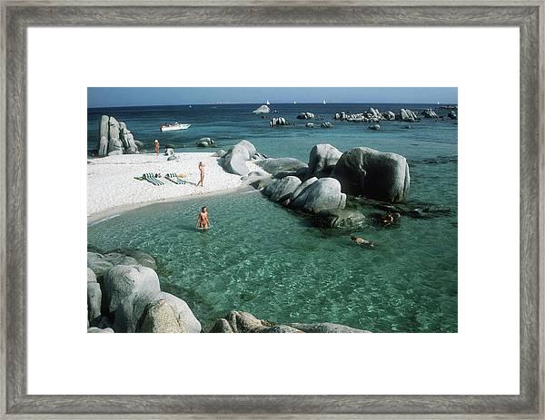 Cavallo Bathers Framed Print