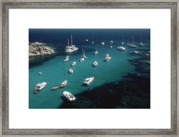 Cavallo Coast Framed Print