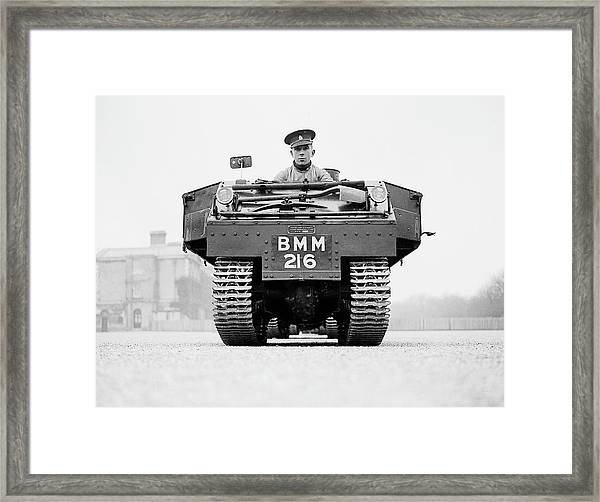 Cavalry Tractor Framed Print