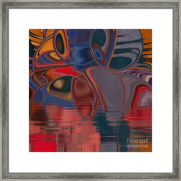 Framed Print featuring the digital art Cave De Sensation by A zakaria Mami