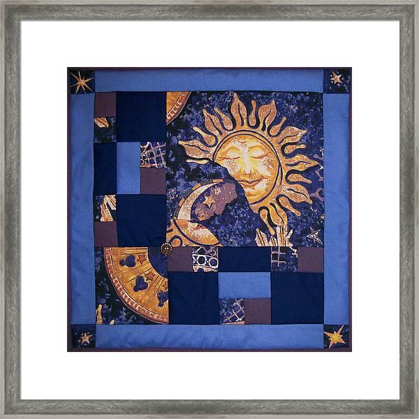 Celestial Slumber Framed Print