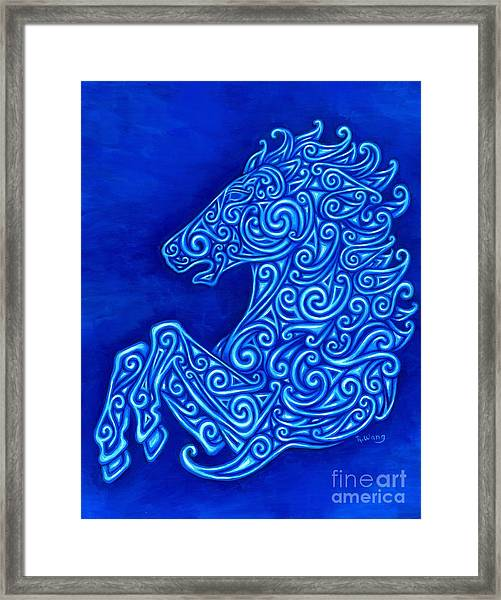 Celtic Horse Framed Print