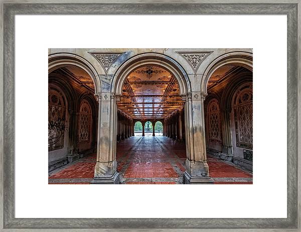 Central Parks Hidden Secret Framed Print by T-S Fine Art Landscape Photography