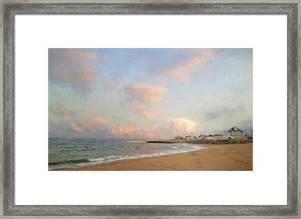 Cezanne Sunset Framed Print