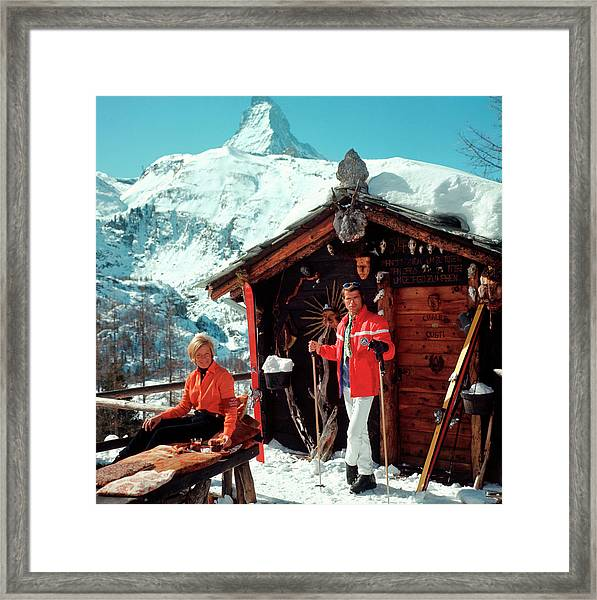 Chalet Costi Framed Print