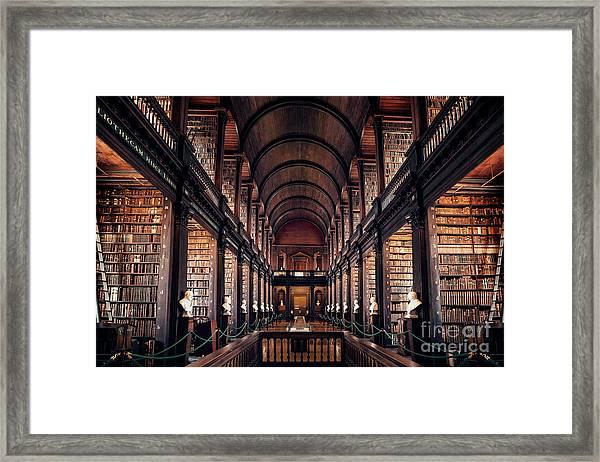 Chamber Of Eternal Wisdom Framed Print