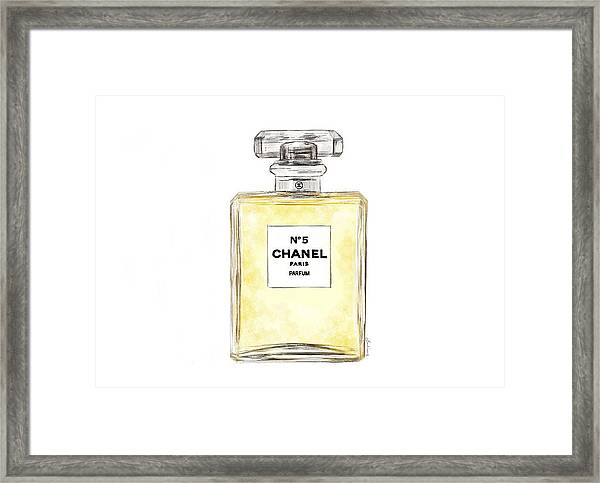 Chanel No. 5  Framed Print