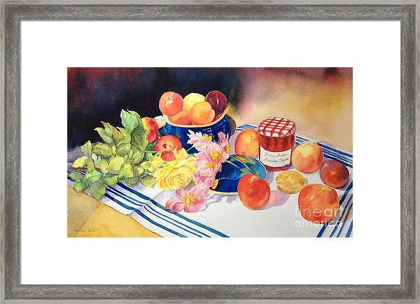Chaos In The Kitchen Framed Print