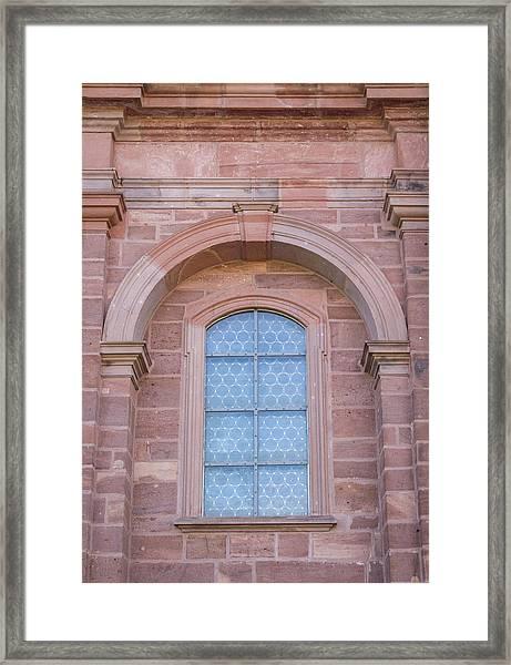 Chapel Window 01 Framed Print