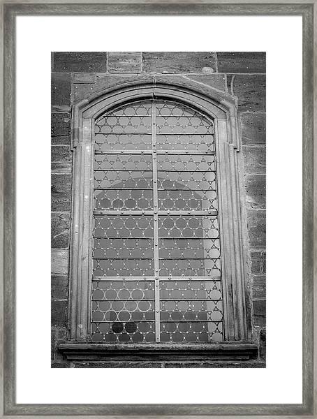 Chapel Window 02 Framed Print