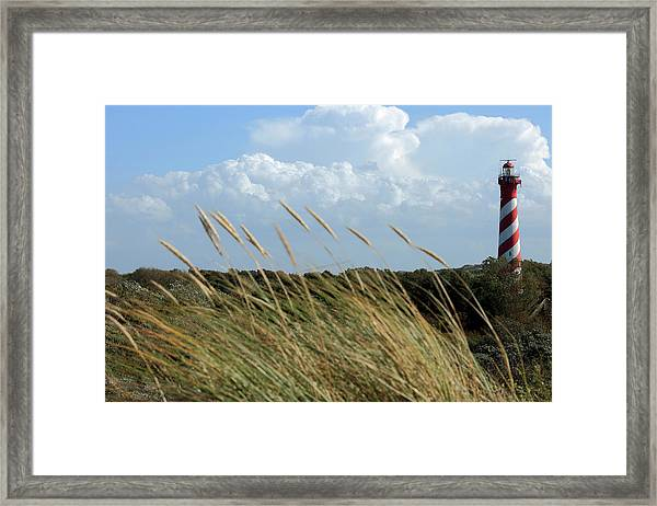 Characteristic Lighthouse Framed Print