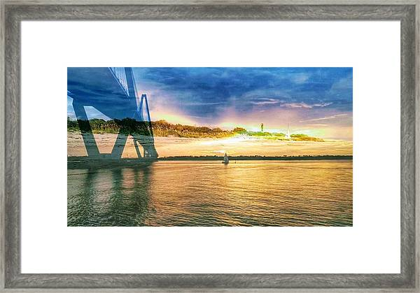 Charleston Harbor Sc Framed Print