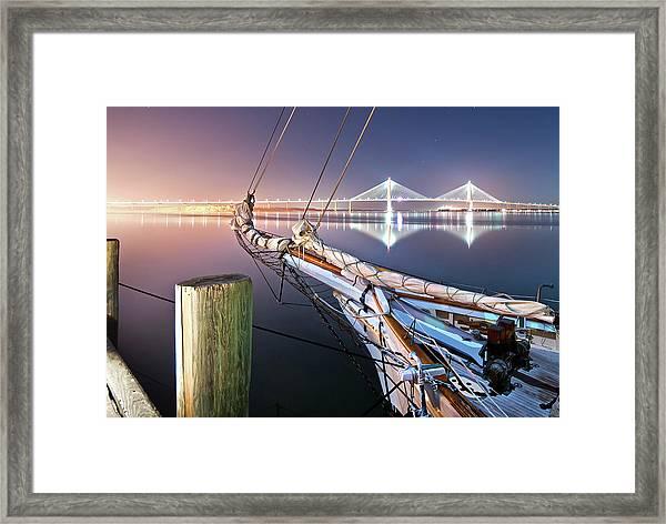 Charleston Harbor Framed Print