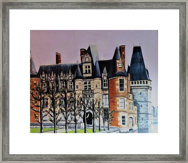 Chateau De Maintenon Framed Print