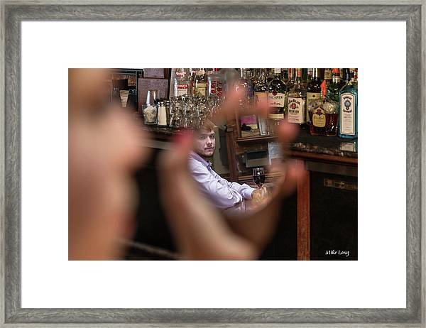 Checking Each Other Out Framed Print