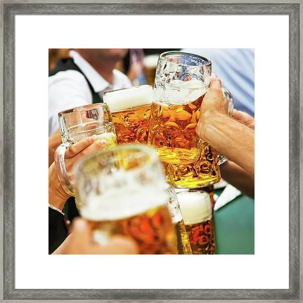 Cheers Framed Print by Nikada