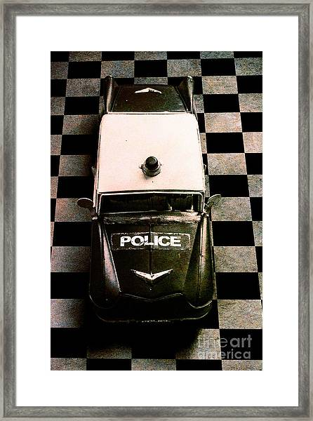 Chequered Past Framed Print