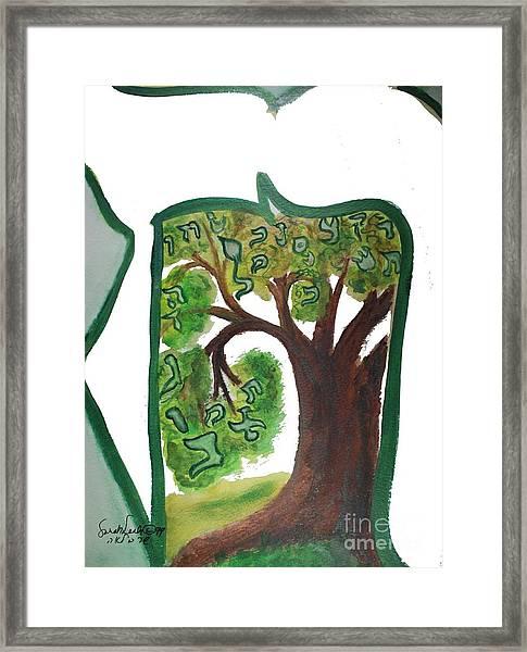 Chet, Tree Of Life  Ab21 Framed Print