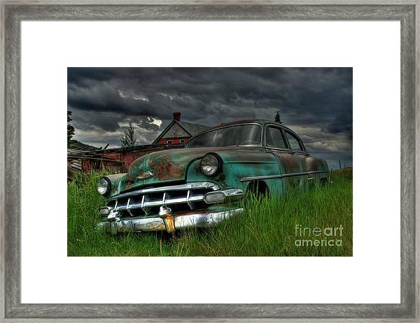 Chevy  Bel Air Framed Print