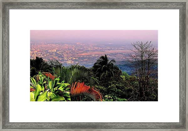 Chiang Mai Framed Print by Davidhuiphoto
