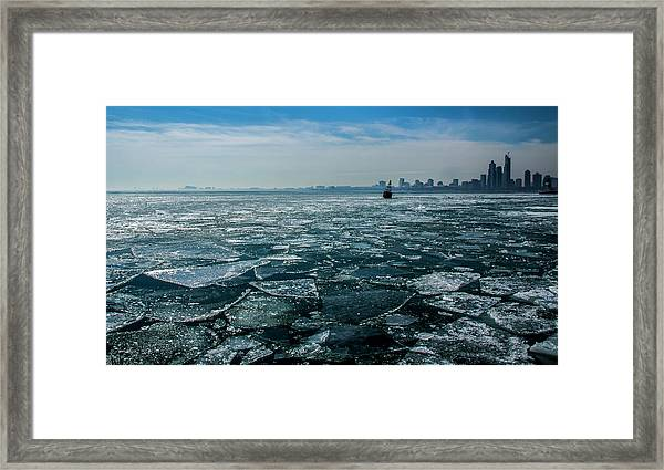 Chicago From Navy Pier 2 Framed Print