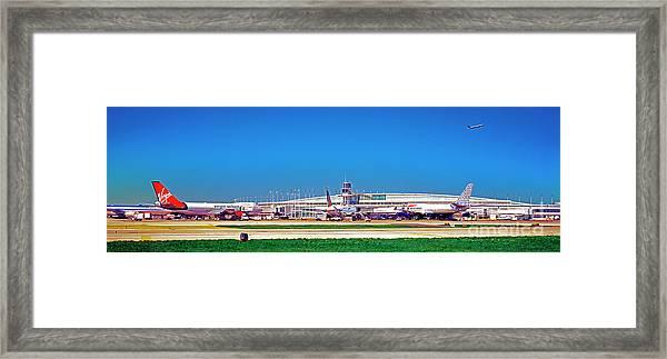 Chicago, International, Terminal Framed Print
