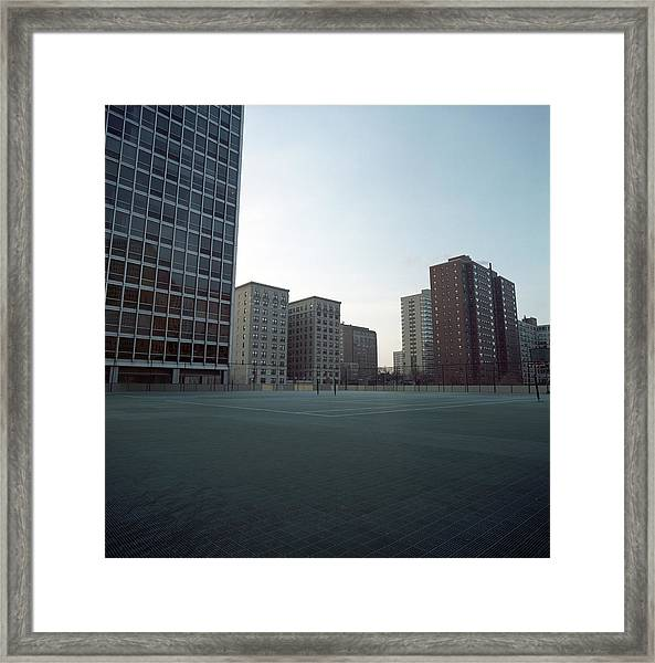 Chicago Tennis Courts Framed Print