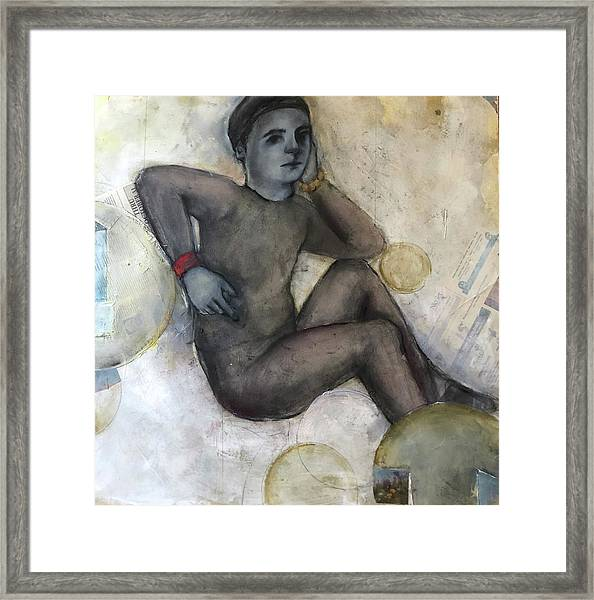 Childs Dancer 41 Framed Print