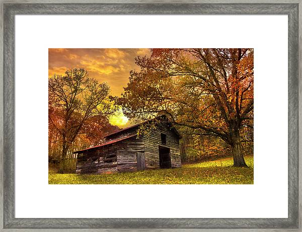 Chill Of An Early Fall Framed Print