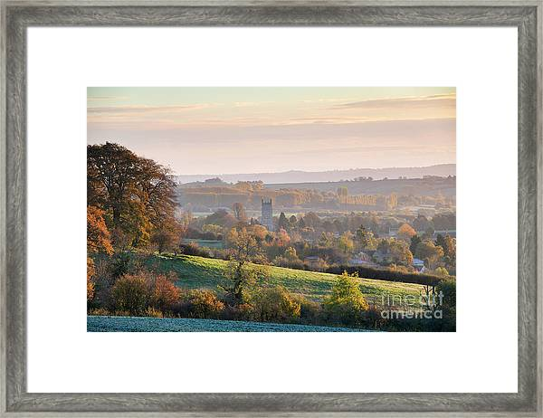 Chipping Campden Autumn Morning Cotswolds Framed Print by Tim Gainey